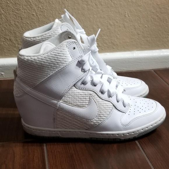 8a539db23e Nike Shoes | White Dunk Sky Hi Essential Sneaker | Poshmark